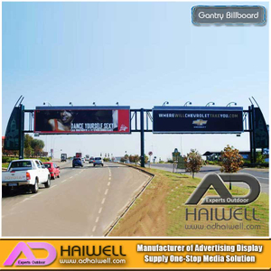 Gantry Bilboard Manufacturer- Tabellone per le affissioni all'aperto | Adhaiwell